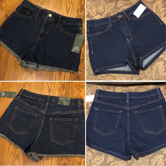Two Pairs. Jean Shorts by Wild Fable.  NEW Size 6